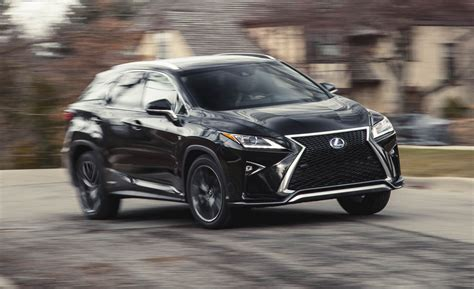 2016 Lexus RX450h Hybrid AWD Test   Review   Car and Driver