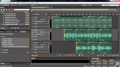Adobe Audition CS6 Tutorial | Working with Loops