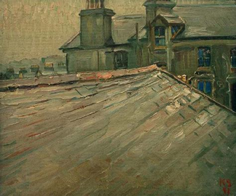 Untitled (View of Roofs in Douglas, Isle of Man) - Kurt