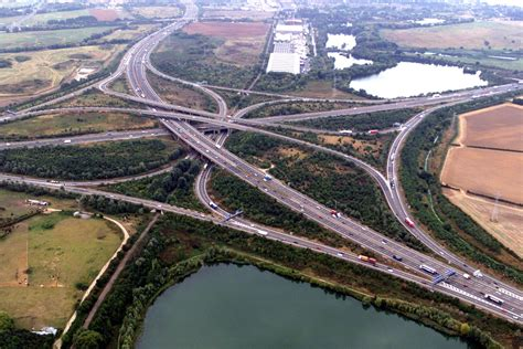 Britain's most hated motorway: the M25 turns 30 years old