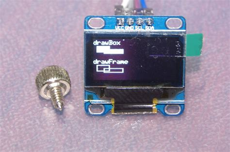 SSD1306 OLED 128×64 with Arduino