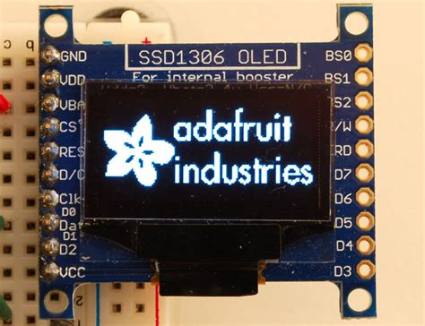 Arduino Library & Examples   Monochrome OLED Breakouts