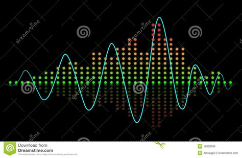 Beat Sound Equalizer Royalty Free Stock Images - Image