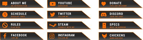 CSGO Bork-Bok-Bok : Free Twitch Overlay from Twitch Temple