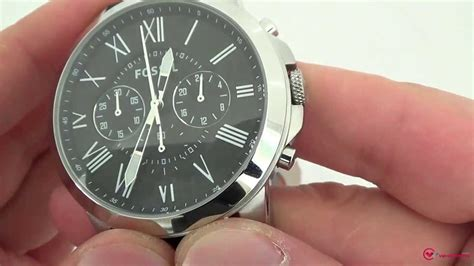 Fossil - FS4812 - YouTube