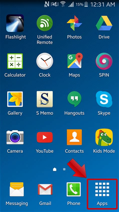 Turn on Screen Mirroring on Samsung Galaxy S5 and Share