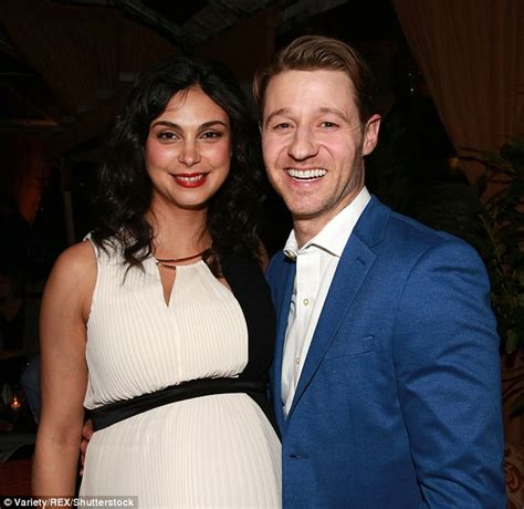 Morena Baccarin attends Gotham viewing party with