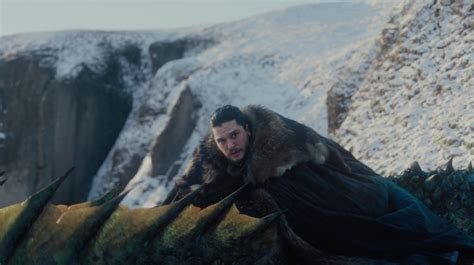 Game of Thrones: Jon Snow's dragon and Ned Stark moments