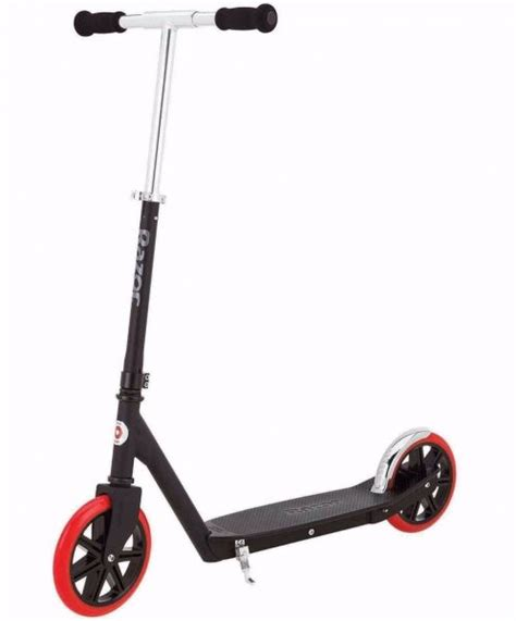Razor Carbon Lux Adult Kick Scooter - 13013203, Black/Red