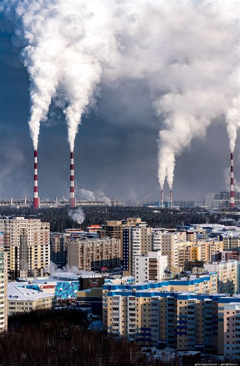 Surgut – the view from above · Russia Travel Blog
