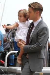 Ben McKenzie gets a special visit on set from family