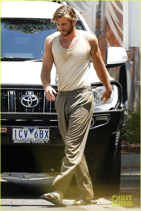 Liam Hemsworth Gets Dirty Down Under for 'The Dressmaker