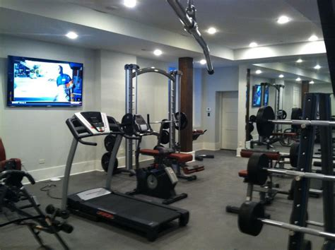 Home Bar & Fitness Room Galleries in Frankfort