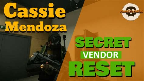The Division 2 - LEVEL 40 - SECRET WEAPONS VENDOR - Weekly
