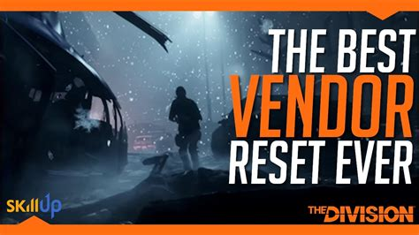 The Division | Weekly Vendor Reset (26th Nov) Feat