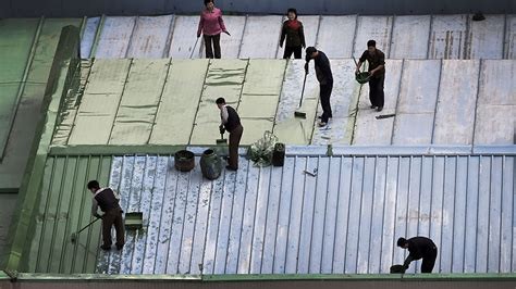 North Korea Orders New Roofs For All Buildings to Suggest