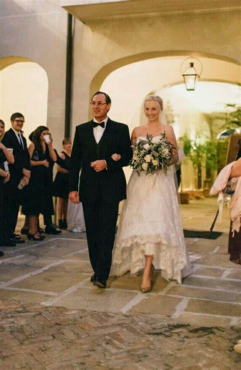 Candice walking down the aisle | Candice accola wedding